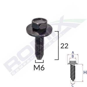śruba mocująca C60619