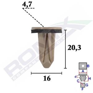 kostka montażowa C70581