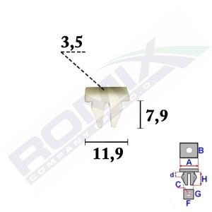 kostka montażowa C70347