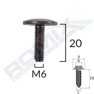 śruba mocująca C60392