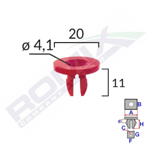 kostka montażowa A82020