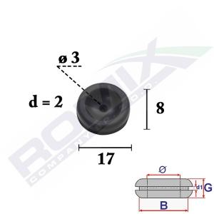 przelotka gumowa C70388