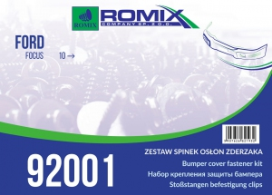 zestaw mocowań 92001